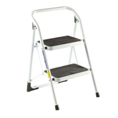 Silla escalera 2 peldanos tuv gs blanca for Escalera plegable homecenter
