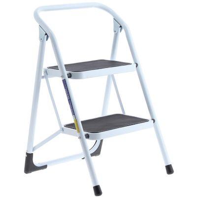 Silla escalera 2 peldanos tuv gs blanca for Escaleras de aluminio usadas