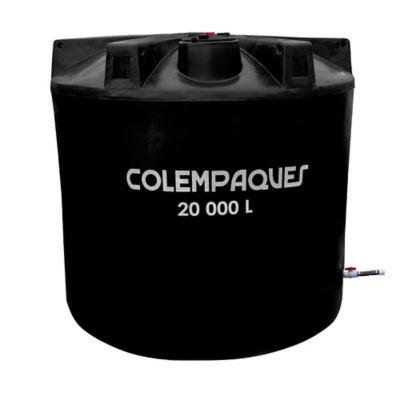 Tanque 10000lt colempaques for Estanque de agua 10000 litros precio