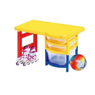 Mesas de escritorio infantiles escritorio mesa de estudio juvenil cm roble para ordenador for Escritorio infantil