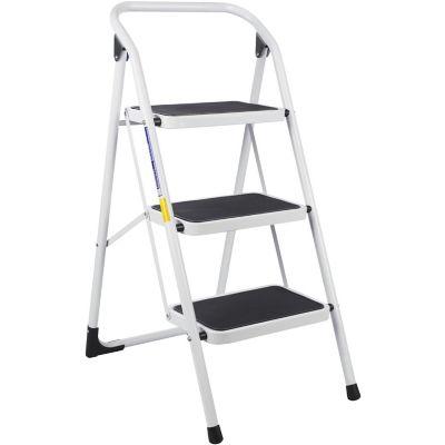 silla escalera 3 peldanos tuv gs blanca On escalera 3 pasos afuera