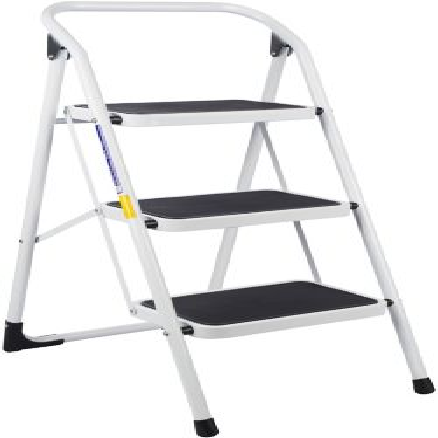 Silla escalera 2 peldanos tuv gs blanca for Escaleras 8 pasos
