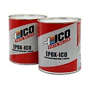 Ico epóxico gris 1 galón catalizador y pintura, Ico