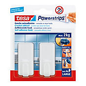 Gancho Adhesivo Power Strip Recto 2 und