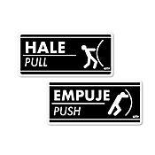 Senal Hale-Empuje 7.5x15cm