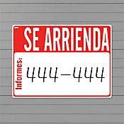 Senal Se Arrienda 61x45.6cm