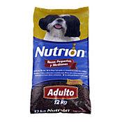 Nutrion Razas Pequeñas y Medianas 12 kg