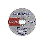 Set 5 discos cortes metales 38mm acople rapido Dremel 2615E456AE