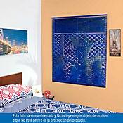 Persiana PVC 120x140 cm Vibra Azul Oscuro