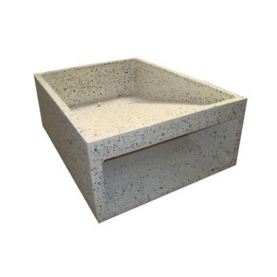 Fregadero de 40x55x20cm granito prefacon for Fregadero ropa