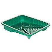 Bandeja Plástica Verde de 9 Pulgadas