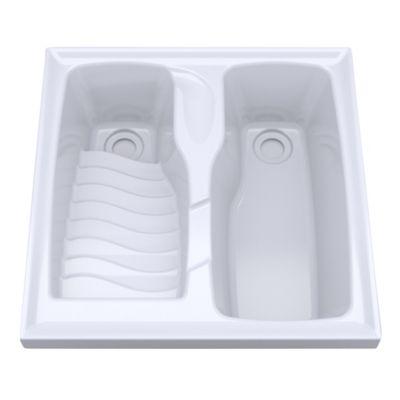 Ba os y cocinas patio de ropa lavaderos lavarropas for Lavaderos modernos para ropa