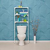 Mueble organizador para baño 142 x 66 x 20 cm