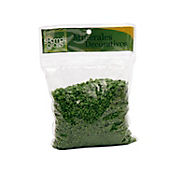Gravilla decorativa cristal de roca verde x 500 gramos