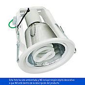 Bala en Aluminio 1 Luz Rosca E27 60w Blanca