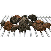 Roca de lava o volcánica para asadores a gas 6 libras
