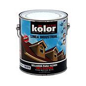 Pintura verde para techos siliconizada 1 galón