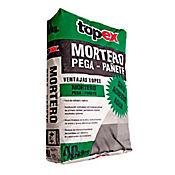 Mortero seco pega pañete 40 kilos, Topex