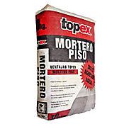 Mortero seco para pisos 40 kilos, Topex
