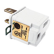 Adaptador 3 a 2 electric line 13 a-125 v