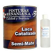 Laca catalizada semimate 1 galón