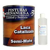 Laca catalizada semimate 1/4 galones