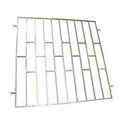 Reja metálica travesaños 120 x 120  aluminio