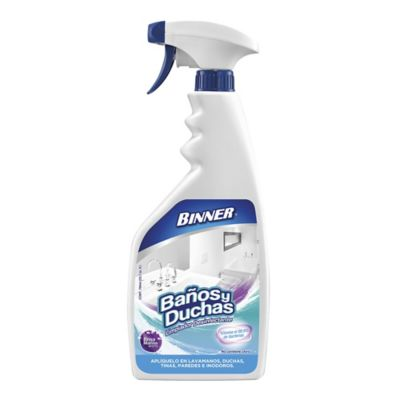 Limpiador de banos duchas 700ml for Duchas de bano homecenter