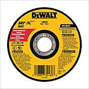 Disco Abrasivo Corte Metal 4 1/2 X 0.045 Pulgadas  Ref DW8062