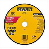 Disco Abrasivo Corte Metal 7 X 0.055 Pulgadas  Ref DW8065