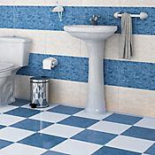 Piso Vulcano Azul 32x32 cm Caja 1.56 m2