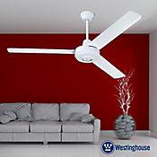 Ventilador Industrial 3 Aspas 142 cm Blanco