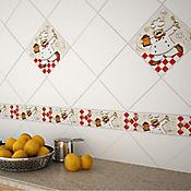Spot Cerámico Decorativo para Cocina 20.5x20.5 cm Cocinerito Beige