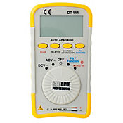Multímetro digital bolsillo 500 v ac/dc mide condensado