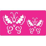 Stencil Mariposa 20 x 20 cm