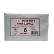 Bolsa Para Basura Blanca 65 x 85 cm 6 Und