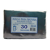 Bolsa Para Basura Negra 90 x 1.10 cm 30 Und