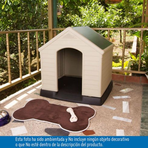 Casa perro plastica   homecenter.com.co