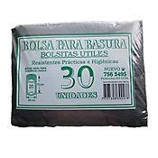 Bolsa Para Basura Negra 49 x 70 cm 30 Und