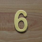 Número Dorado # 6