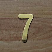 Número Dorado # 7