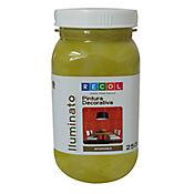 Pintura verde concha efecto iluminatum 250 ml