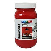 Pintura roja efecto iluminatum 250 ml