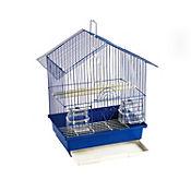 Jaula Mediana Para Aves Caja 50x23x30 cm