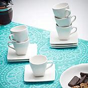 Set de Café de 6 Puestos Vasos Cónicos
