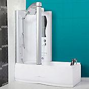 Cabina izquierda  tipo tina con ducha 3 funciones