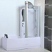 Cabina derecha tipo tina con ducha 3 funciones