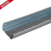 Vigueta 38x19x0.40mm 2.44m Cal 26 Steel