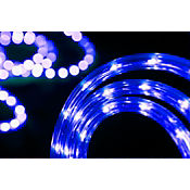 Luz manguera 10 metros azul