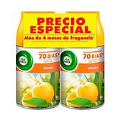 Ambientador Fresh Matic Citrus 2 Und x 250 ml Cada Uno